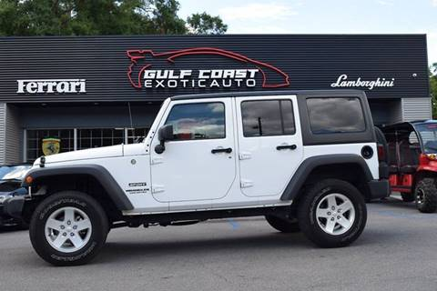 2016 Jeep Wrangler Unlimited for sale in Biloxi, MS