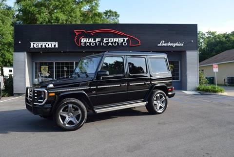 2016 Mercedes-Benz G-Class for sale at Gulf Coast Exotic Auto in Biloxi MS