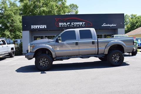 2011 Ford F-250 Super Duty for sale at Gulf Coast Exotic Auto in Biloxi MS