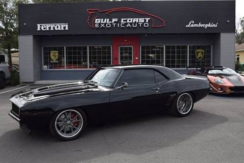 1969 Chevrolet Camaro for sale at Gulf Coast Exotic Auto in Biloxi MS