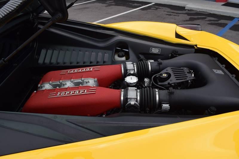 2010 Ferrari 458 Base 2dr Coupe: 2010 Ferrari 458 Italia Base 2dr Coupe 10437 Miles Yellow Coupe 4.5L V8 Automati