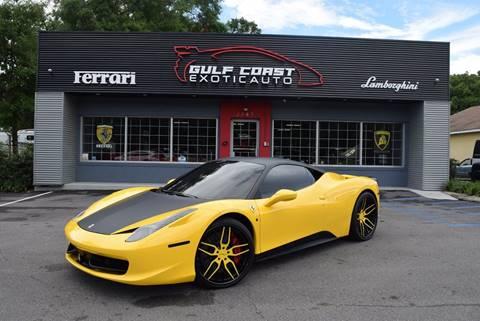 2010 Ferrari 458 Italia for sale at Gulf Coast Exotic Auto in Biloxi MS