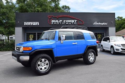 2007 Toyota FJ Cruiser for sale at Gulf Coast Exotic Auto in Biloxi MS