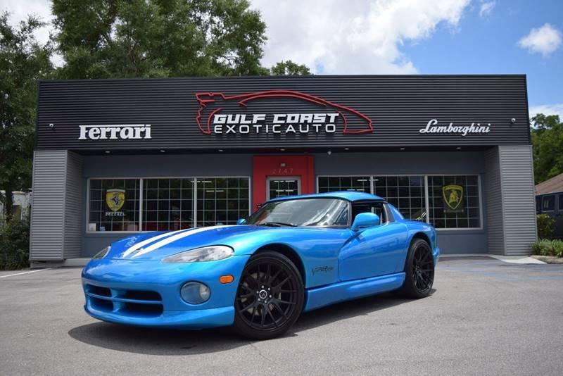 1996 Dodge Viper for sale at Gulf Coast Exotic Auto in Biloxi MS