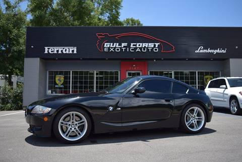 2007 BMW Z4 M for sale at Gulf Coast Exotic Auto in Biloxi MS