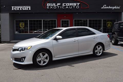 2013 Toyota Camry for sale at Gulf Coast Exotic Auto in Biloxi MS