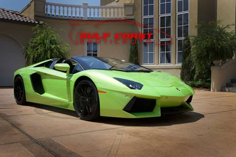 2015 Lamborghini Aventador for sale at Gulf Coast Exotic Auto in Biloxi MS