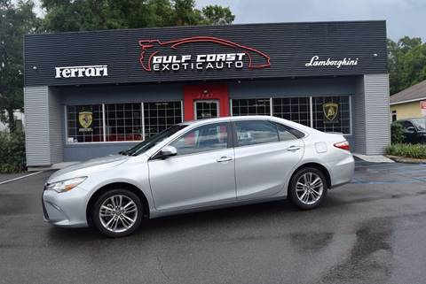 2016 Toyota Camry for sale at Gulf Coast Exotic Auto in Biloxi MS