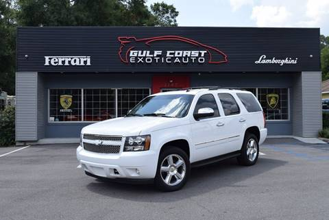 2013 Chevrolet Tahoe for sale at Gulf Coast Exotic Auto in Biloxi MS