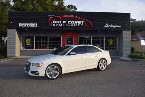 2015 Audi S4 for sale at Gulf Coast Exotic Auto in Biloxi MS