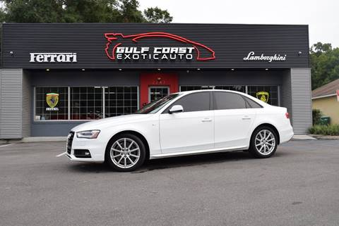 2014 Audi A4 for sale at Gulf Coast Exotic Auto in Biloxi MS