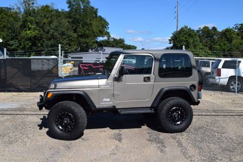 2004 Jeep Wrangler for sale at Gulf Coast Exotic Auto in Biloxi MS