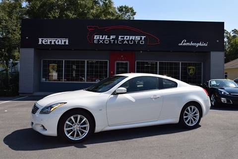 2015 Infiniti Q60 Coupe for sale at Gulf Coast Exotic Auto in Biloxi MS