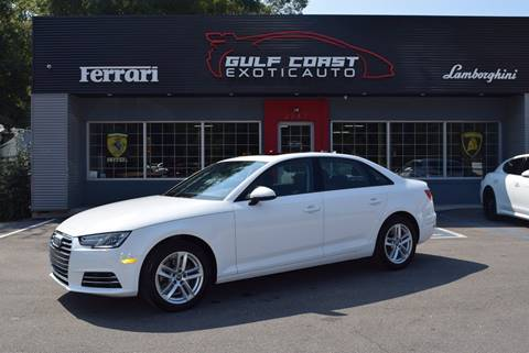 2017 Audi A4 for sale at Gulf Coast Exotic Auto in Biloxi MS