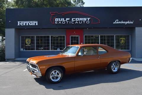 1972 Chevrolet Nova for sale at Gulf Coast Exotic Auto in Biloxi MS