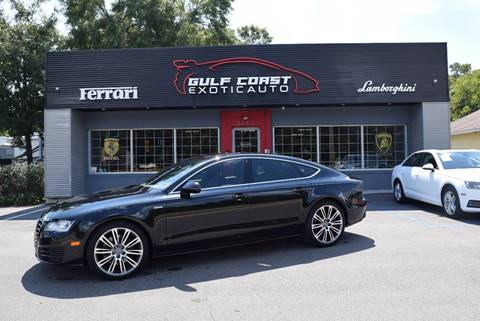 2012 Audi A7 for sale at Gulf Coast Exotic Auto in Biloxi MS