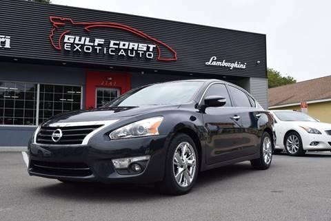 2013 Nissan Altima for sale at Gulf Coast Exotic Auto in Biloxi MS