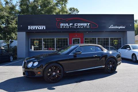 2014 Bentley Continental for sale at Gulf Coast Exotic Auto in Biloxi MS