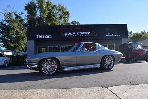 1963 Chevrolet Corvette for sale at Gulf Coast Exotic Auto in Biloxi MS