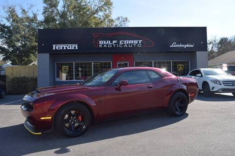2018 Dodge Challenger for sale at Gulf Coast Exotic Auto in Biloxi MS