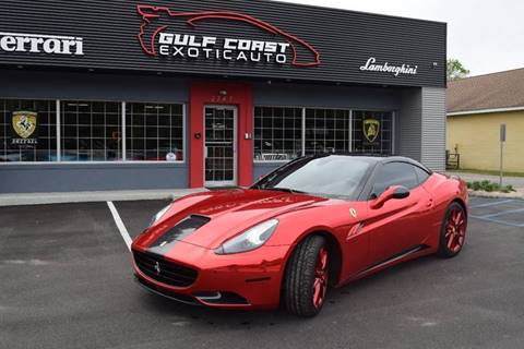 2012 Ferrari California for sale at Gulf Coast Exotic Auto in Biloxi MS
