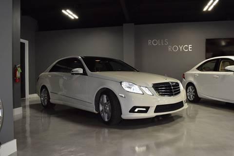 2010 Mercedes-Benz E-Class for sale at Gulf Coast Exotic Auto in Biloxi MS