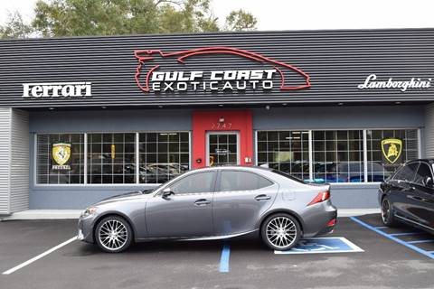2014 Lexus IS 250 for sale at Gulf Coast Exotic Auto in Biloxi MS