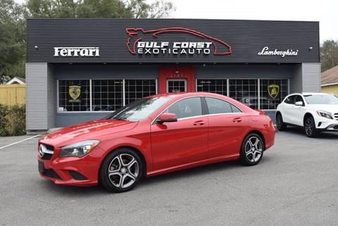 2014 Mercedes-Benz CLA for sale at Gulf Coast Exotic Auto in Biloxi MS
