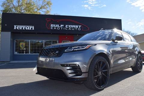 2018 Land Rover Range Rover Velar for sale at Gulf Coast Exotic Auto in Biloxi MS