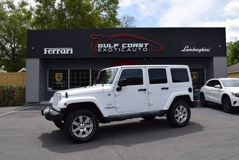 2015 Jeep Wrangler Unlimited for sale at Gulf Coast Exotic Auto in Biloxi MS