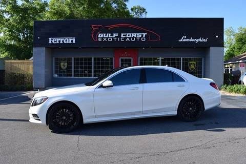2016 Mercedes-Benz S-Class for sale at Gulf Coast Exotic Auto in Biloxi MS