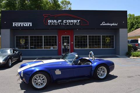 1965 Shelby Cobra for sale at Gulf Coast Exotic Auto in Biloxi MS