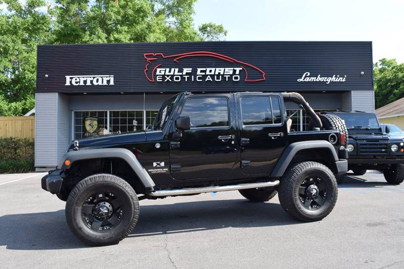 2008 Jeep Wrangler Unlimited for sale at Gulf Coast Exotic Auto in Biloxi MS