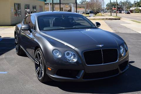 2013 Bentley Continental GT V8 for sale at Gulf Coast Exotic Auto in Biloxi MS