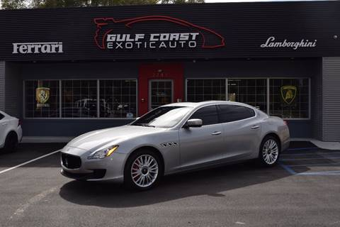 2014 Maserati Quattroporte for sale at Gulf Coast Exotic Auto in Biloxi MS