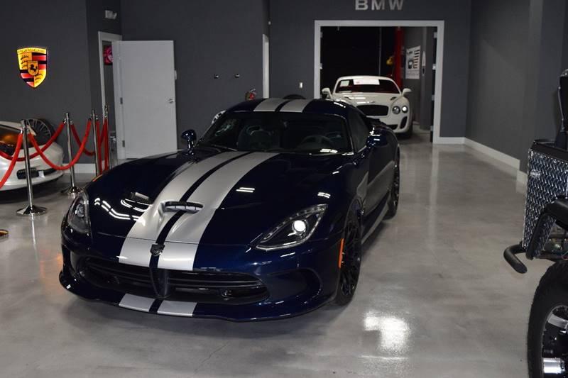 2015 Dodge Viper for sale at Gulf Coast Exotic Auto in Biloxi MS