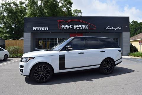 2017 Land Rover Range Rover for sale at Gulf Coast Exotic Auto in Biloxi MS
