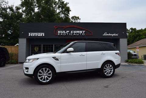 2015 Land Rover Range Rover Sport for sale at Gulf Coast Exotic Auto in Biloxi MS