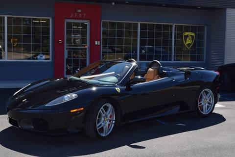 2008 Ferrari F430 Spider for sale at Gulf Coast Exotic Auto in Biloxi MS