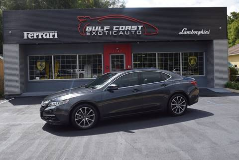 2015 Acura TLX for sale at Gulf Coast Exotic Auto in Biloxi MS