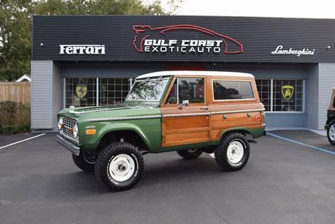 1974 ford bronco for sale in biloxi, ms