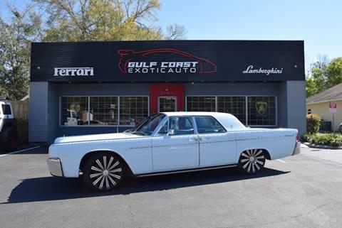 1963 Lincoln Continental for sale in Biloxi, MS