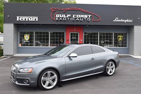 2012 Audi S5 for sale at Gulf Coast Exotic Auto in Biloxi MS