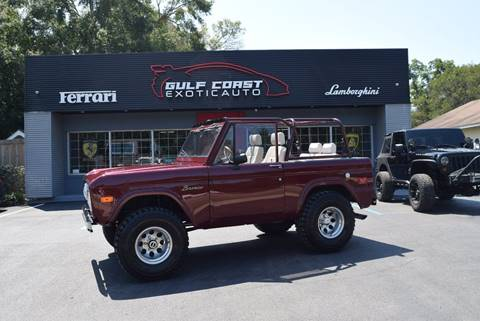 Used Ford Bronco >> 1973 Ford Bronco For Sale In Biloxi Ms