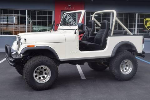 1981 Jeep CJ-7 for sale in Biloxi, MS