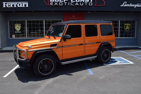 2015 Mercedes-Benz G-Class for sale at Gulf Coast Exotic Auto in Biloxi MS