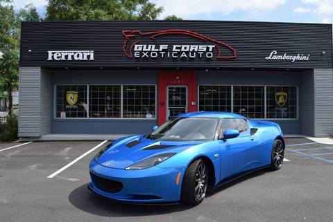 2011 Lotus Evora for sale at Gulf Coast Exotic Auto in Biloxi MS