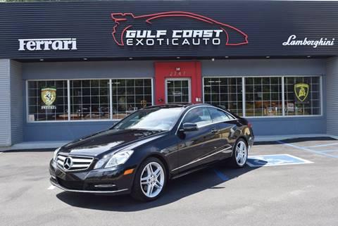 2013 Mercedes-Benz E-Class for sale at Gulf Coast Exotic Auto in Biloxi MS