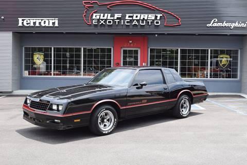 1985 Chevrolet Monte Carlo for sale at Gulf Coast Exotic Auto in Biloxi MS