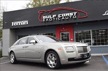 2012 Rolls-Royce Ghost for sale at Gulf Coast Exotic Auto in Biloxi MS